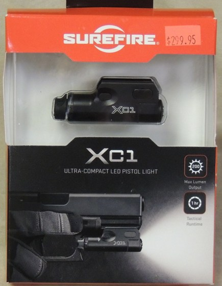 Surefire XC1 Ultra-Compact LED Pistol Light NEW